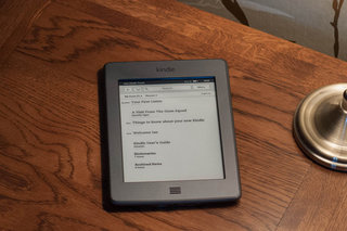 Kindle Touch update brings new interface, features