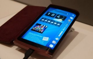 Samsung flexible OLED prototype phone shown off at CES