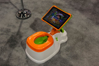 iPotty for iPad lets your kid play while they poo