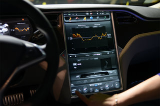 tesla model s 17 inch screen pictures and hands on image 5