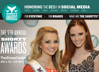 WEBSITE OF THE DAY: Shorty Awards
