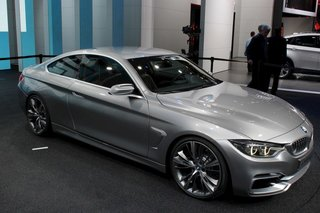 BMW 4-Series Coupe Concept pictures and hands-on