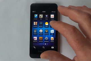 BlackBerry Z10 review appears with all the details, not so sure RIM would approve