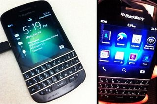 More BlackBerry 10 N-Series (X10) shots leak, showing off the Qwerty keyboard