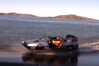 Back to the Future DeLorean hovercar genuinely appears in San Francisco (video)