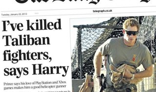 Prince Harry: Love of PlayStation makes me a good helicopter gunner