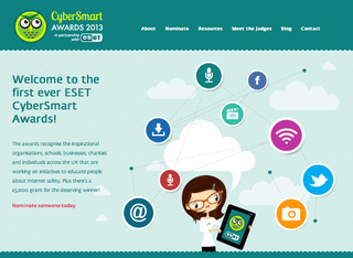 WEBSITE OF THE DAY: Cyber Smart Awards