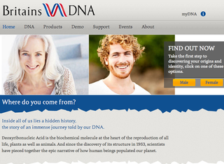 WEBSITE OF THE DAY: Britain's DNA