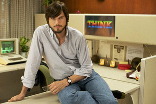jOBS clip shows Aston Kutcher as Steve Jobs geeking out