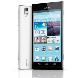 Huawei Ascend P2 press shot leaks ahead of alleged MWC announcement