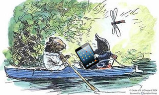 River Thames to be covered in Wi-Fi, Ducks are a-dabbling, Up tails all