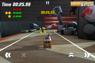 app of the day table top racing review iphone  image 3