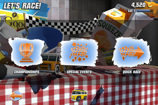 app of the day table top racing review iphone  image 9