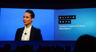 BlackBerry signs Alicia Keys as global creative director
