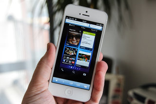 Blippar turns your iPhone or Android smartphone into a BlackBerry Z10... sort of
