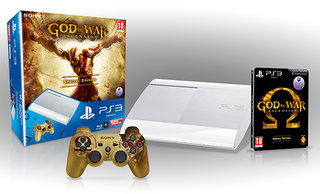 White superslim PS3 coming to UK too, in shape of God of War: Ascension bundle