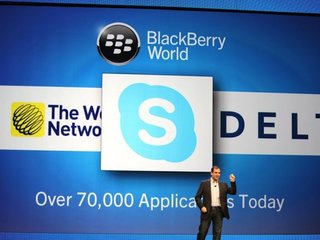 Skype still slated for BlackBerry 10 devices, will be an Android app port