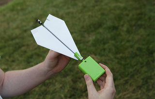 iPhone-controlled paper aeroplane takes flight in 2013
