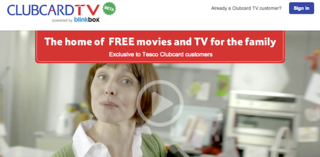 Tesco launches Clubcard TV video-streaming service