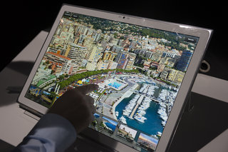 Panasonic 4K 20-inch tablet pictures and hands-on