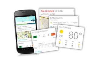 Google Now widget prematurely revealed by... Google