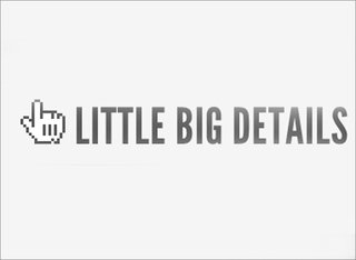WEBSITE OF THE DAY: Little Big Details