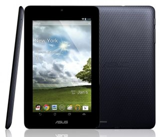 Asus MeMO Pad set for UK launch