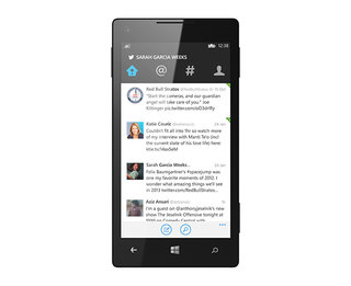 Twitter for Windows Phone updated, brings proper live tile