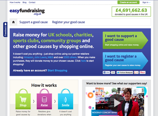 WEBSITE OF THE DAY: Easy Fundraising