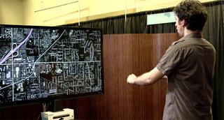 Microsoft Research Kinect tweak lets you grab to click