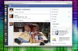 Hands-on: New Facebook News Feed explored