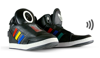Google shows off talking shoes at South by Southwest