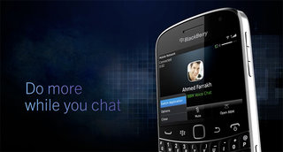 BBM Voice arrives on BlackBerry 5 handsets