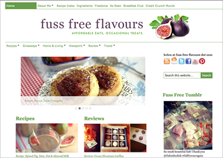 WEBSITE OF THE DAY: Fuss Free Flavours