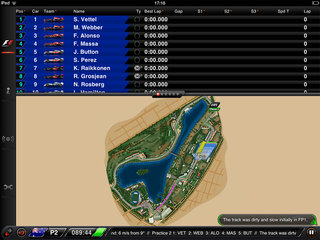APP OF THE DAY: F1 2013 Timing App CP review (iPad)