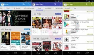 New version of Google Play leaks with cleaner, more Holo-like UI