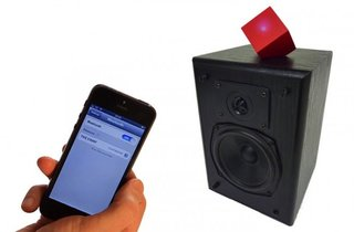 The Vamp adds Bluetooth to any speaker, new or old