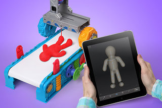 Play-Doh 3D Printer: ThinkGeek's best April Fools yet?