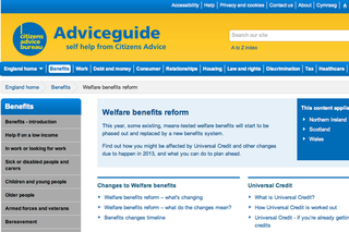 Website of the day: Adviceguide.org.uk