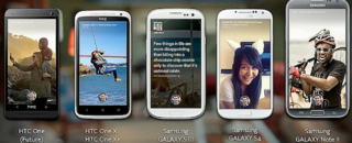 What Android handsets will support Facebook Home at launch?