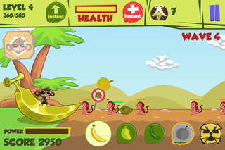 app of the day don t steal my banana review iphone  image 4
