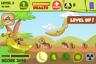 app of the day don t steal my banana review iphone  image 5