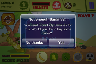 app of the day don t steal my banana review iphone  image 7