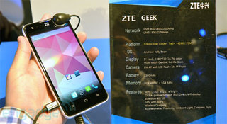 ZTE Geek appears with new 2GHz Intel Clover Trail+ chip inside