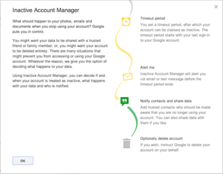 Google now lets you plan what happens to your account after death