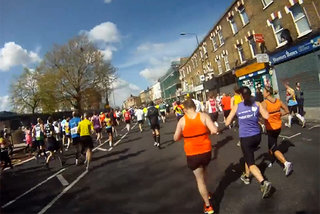 Run the London Marathon without leaving the house, thanks to Kinomap Trainer for iPhone and iPad