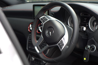 mercedes a class 250 blueefficiency engineered by amg pictures and hands on image 29