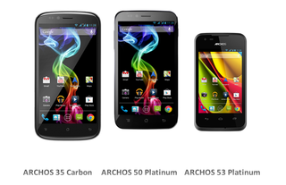 Archos budget smartphone line running pure Android revealed, starting at £79.99