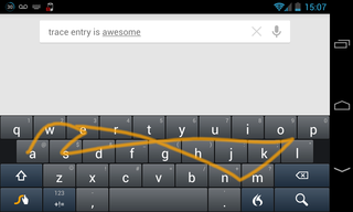 app of the day swype review android  image 3