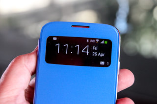 hands on samsung galaxy s4 s view cover review image 8